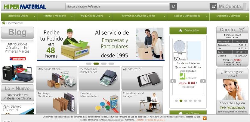 Compra todo tipo de productos para tu oficina todos for Material de oficina online